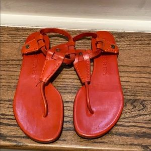Burrberry leather sandals